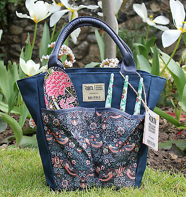 Briers Garden Tool Bag in William Morris Strawberry Thief