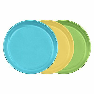 Green Sprouts Sprout Plate Assortment - 3 count, Blue / Green / Yellow - 152690-