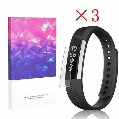 High Definition Ultra Clear Film Screen Protector for Fitbit alta HR(3 Packs)
