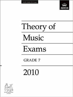 Theory of Music Exams 2010, Grade 7 (Theory of Music Exam papers (ABRSM)), New,