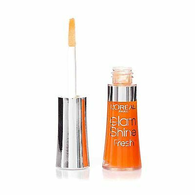 "Gloss Glam shine fresh ""L'OREAL PARIS"" aqua mandarin (orange)"