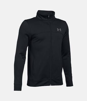 Under armour boys L kids pennant warm up jacket sports age 11-13 approx Bnwt