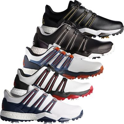 Adidas Golf 2017 Powerband Boa Boost Wide Waterproof Golf Shoes