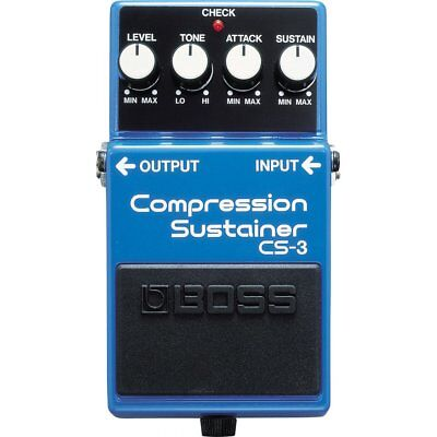 Boss Boss CS3 | Compression Sustain | Guitar Effects Pedal
