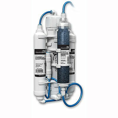 Aquatic Life RO Buddie Four Stage Reverse Osmosis System with Color Changing Mix