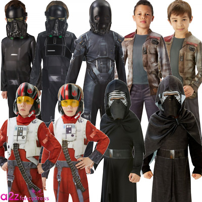 Childrens Star Wars Rogue One Boys Kids Character Sci Fi Cosplay Fancy Dress