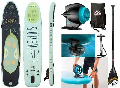 AQUA MARINA Mega Sup Super Trip Stand Up Paddle mit BlueDrive Power Motor