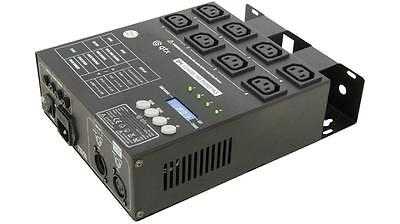 QTX 154.110 DP4 4 Channel LED 2 IEC Power Readout Display Dmx Dimmer Pack - New