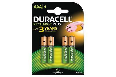 Duracell 656.981UK NiMH Plus 750mAh Ultra Long Lasting Power Rechargable Battery