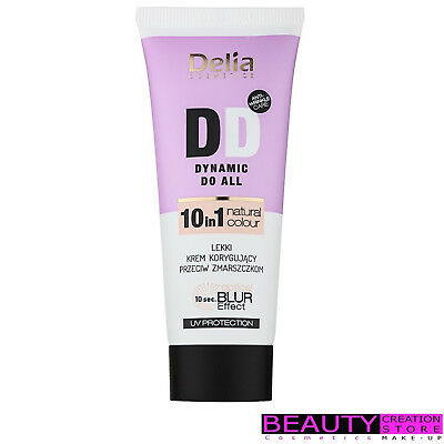 DELIA DD Dynamic Do All Anti-Wrinkle Cream 10in1 NATURAL COLOR DL019-2