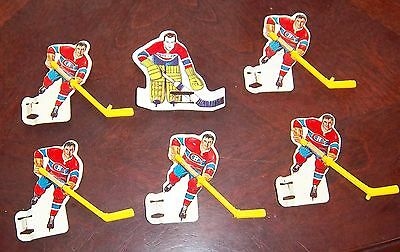Coleco  / Eagle Montreal Canadians Yellow stick Team1964-67  table top hockey A