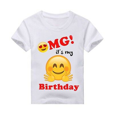 Emoji T Shirt Birthday Personalized