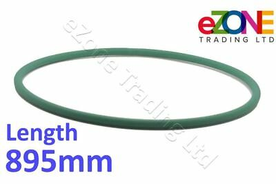 IGF 895mm - Long Green Drive Belt for PIZZA Dough Roller Stretcher B40, L40