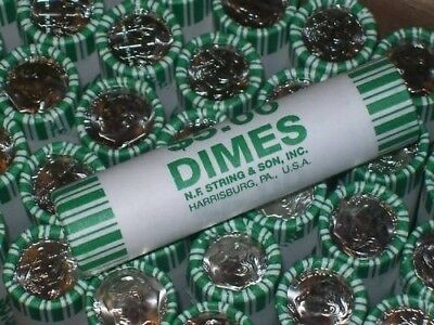 2017 P&D Mint Unc Dime s from fresh bank rolls 2 coins- Free shipping after 1st