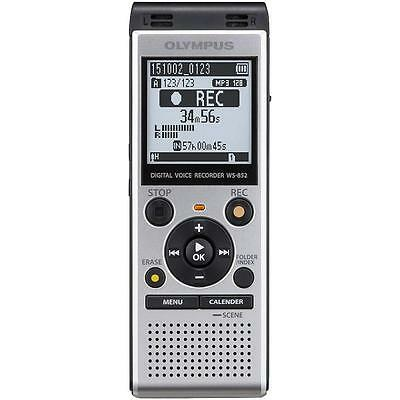 Olympus WS852 Digital Voice Recorder 4GB with Built in USB Plus Micro SD Slot