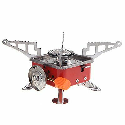 Outdoor Portable Stove Cooker Gas Burner for Camping Picnic Cookout BBQ Q2K3