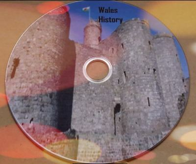 Wales history ebooks, genealogy, in pdf and Kindle Formats for PC/Laptop on disc