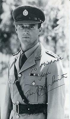 Tim Pigott-Smith Actor In Doctor Who / Houdini / Flyboys Signed Photo Autograph