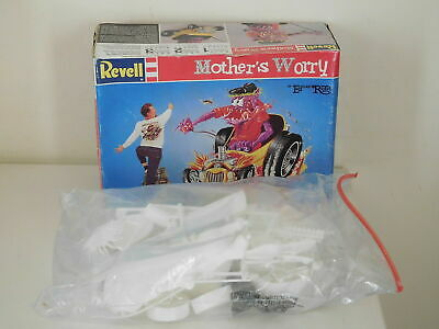 MOTHER'S WORRY by Revell 1996 - da montare e dipingere MODEL KIT by Ed Roth
