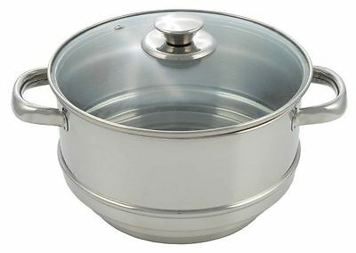 Pendeford Stainless Steel Collection Steamer 20cm - P034