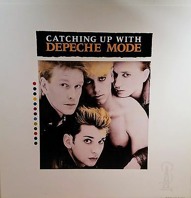 DEPECHE MODE 'CATCHING UP WITH' Promo Album Flat Suitable for framing Mint  1985