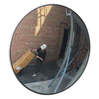 "#1 Industrial Rated 18"" Acrylic Indoor/Outdoor Safety & Security Convex Mirror"