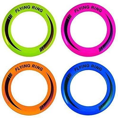 Flying Rings - NEON COLOURED RING Fun Outdoor Summer Toys - Frisbee DISC