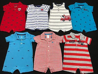 Infant Baby Boy Clothes Size 3 Months Spring Summer One Piece Outfits Mixed Lot