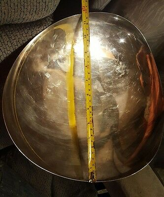 12  Inch Diameter Fisher Sterling Silver Plate very rare