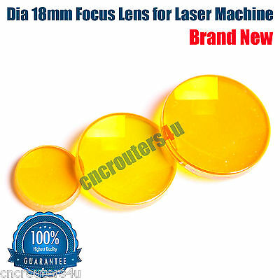 1 PC ZnSe Dia 18mm Focus Lens for CO2 Laser Cutting Engraving Machine FL 2''