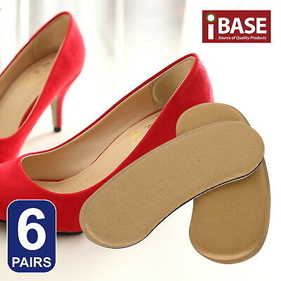 6 Pairs Back Spongia Shoes Cushion Pad High Heel Grips Insole Insert Protector