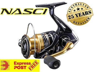 Shimano Nasci 3000FB New Fishing Reel 2017 MODEL