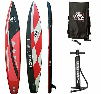 AQUA MARINA RACE SUP inflatable Stand Up Paddle Surfboard Board