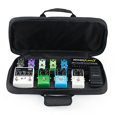 Donner DB-4 Guitar Effects Pedal Board Pedalboard with New Fashion Case