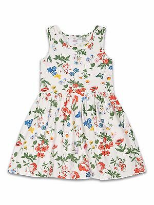 Girls Summer Dress Kids Childrens Short Sleeve Casual Party Age 2 3 4 5 6 7 8