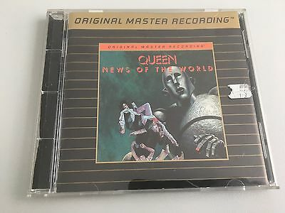 Queen News of the World CD USA MFSL Mobile fidelity series!!! UDCD 588