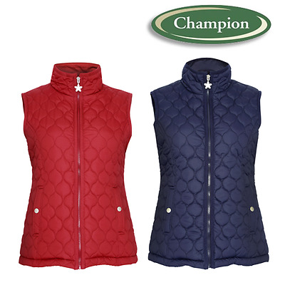 Champion Clovelly Ladies Womens Quilted Bodywarmer Gilet Country Waistcoat Vest