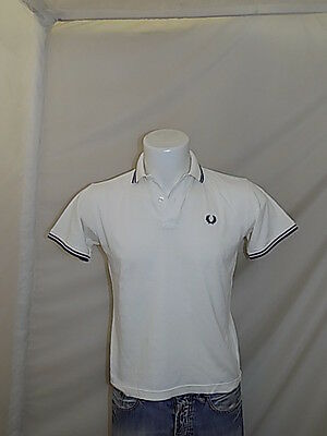 Fred Perry Polo Maglia T-Shirt 12 Anni Years Bambino P3036