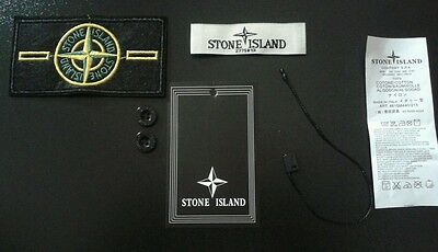 Stone island replacement badge set buttons tags lables  7.99 free post