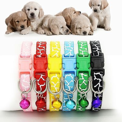 Puppy Kitten Cat Pet Collar Dog Strap Buckle Neck Chain Nylon Fabric