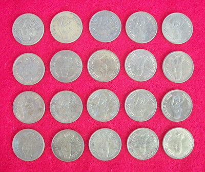 (20) Vintage Nude Lady Heads I Win Tails You Lose Novelty Coin Token Peepshow