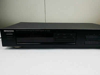 Kenwood KT-1010L QUARTZ SYNTHESIZER AM-FM STEREO TUNER