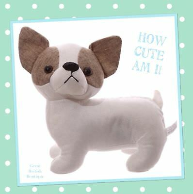 OH SO CUTE CHIHUAHUA DOOR STOP BEDROOM DECORATION HOME DECOR WEIGHTED-free post!