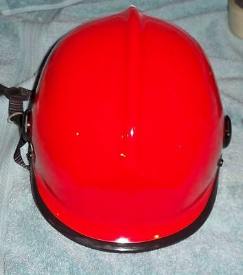 New old stock Pacific Helmets Kevlar Dupont NFPA red rescue Helmet ANSI