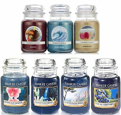 Yankee Candle Large 22oz Jar -USA Special Limited Editions - FREE POSTAGE