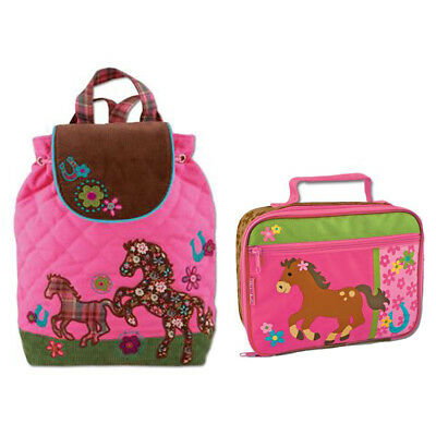 Stephen Joseph Lunch Box & Signature Backpack Horse Unisex Kids Lunch Box & Bac