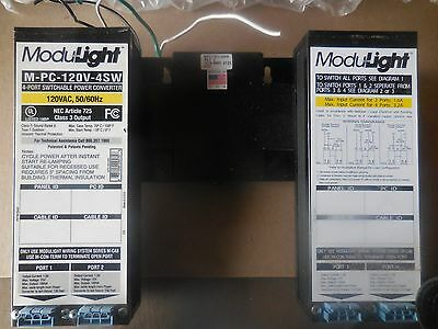 Modulight Converter, starter and emergency switch package of 35 pcs