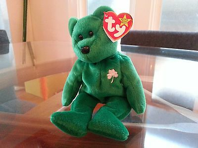 'Erin' the St. Patrick's Day Bear - Ty Beanie Baby - MINT - RETIRED