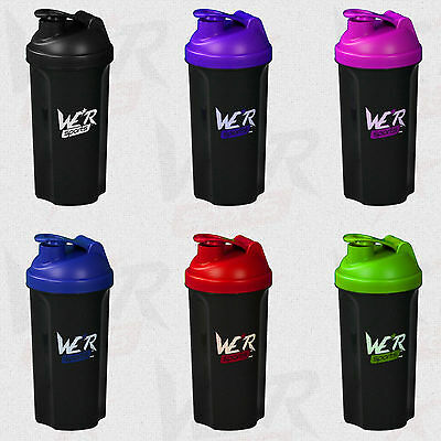 Shaker Bottle Protein Shaker Cup Bottle for Nutrition Whey Protein Mix 700ml