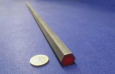 "1215 Carbon Steel Hex Rod 5/8"" Hex x 3 Foot Length"